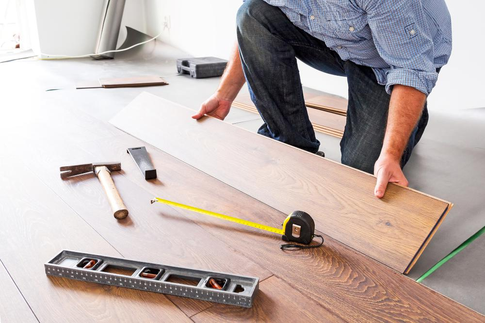 What's the procedure when having your flooring installed?